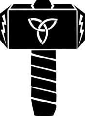 Thors Hammer, Triquetra, Blitz