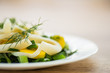 salad with squid and eggs