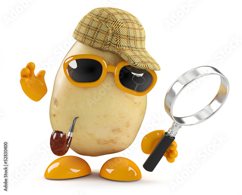 Sherlock Potato discovers a crime