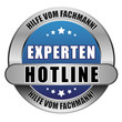 5 Star Button blau EXPERTEN HOTLINE HVF HVF