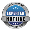 5 Star Button blau EXPERTEN HOTLINE DTO DTO