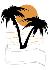 palme silhouette