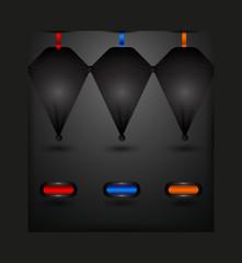 buton ve basamak seçenekleri