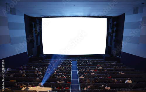 Cinema auditorium.