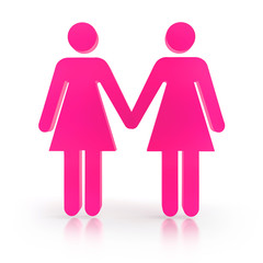 Lesbisches Paar