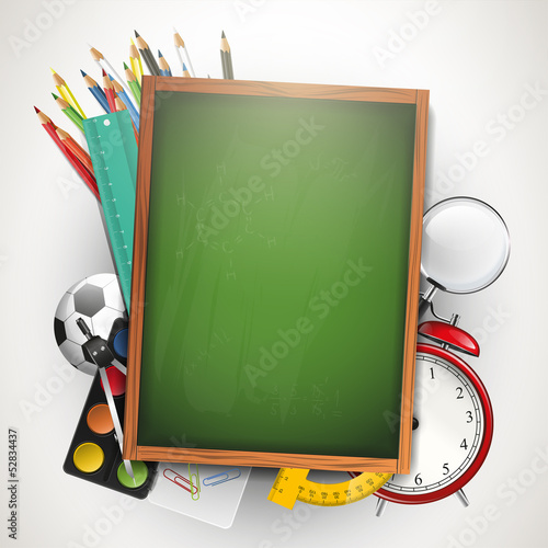 School background with copyspace
