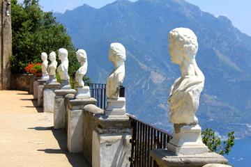 Terrasse de l'infini à Ravello - Côte Amalfitaine - Italie