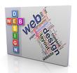 Crossword of web design