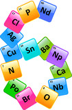 Periodic Table Of Elements Number 6 poster