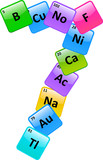 Periodic Table Of Elements Number 7 poster