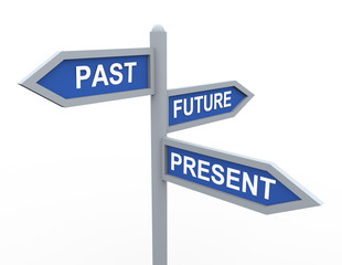 Present, past and future