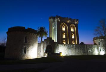 Castillo de Arteaga en Gautegiz de Arteaga, Vizcaya