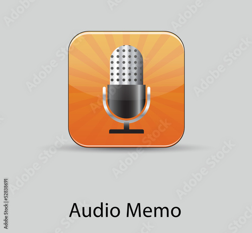 Audio Memo icon