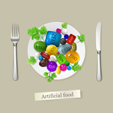 Artificial food
