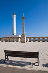 Lighthouse of Santa Maria di Leuca. Puglia. Italy.