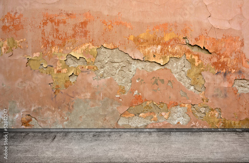 Street grunge wall. Digital background for studio photographers.