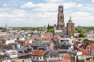 Utrecht aerial view, Netherlands