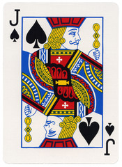 Playing Card - Jack of Spades