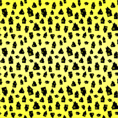 Pattern case giallo