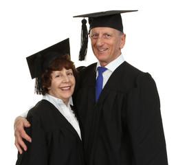 Happy Senior Graduate Couple