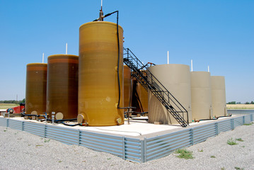 OIL TANK BATTERY