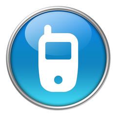 Bottone vetro cellulare