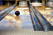 canvas print picture - Bowling