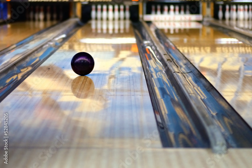 canvas print picture Bowling