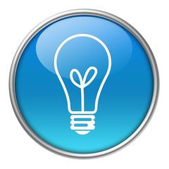 Bottone vetro lampadina