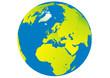 Planet Erde - Afrika - Europa - Asien