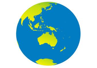 Planet Erde - Australien - Asien