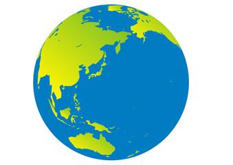 Planet Erde - Australien - Asien - Ozeanien