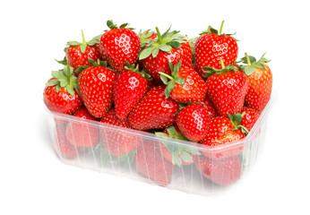 Schale Erdbeeren