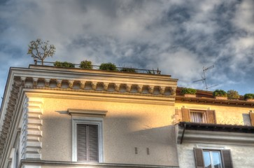 Roma, palazzo antico
