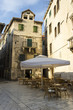Outdoor cafe in old town, Split, Croatia