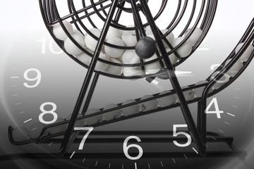 Bingo Game Cage and Calendar
