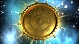Golden Zodiac Machine and Stars