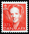 Postage stamp Denmark 1990 Margrethe, Queen of Denmark