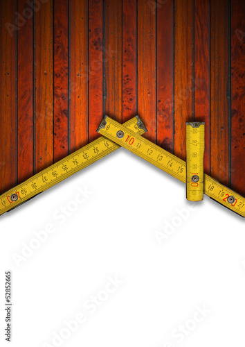 House Background - Wood Meter Tool
