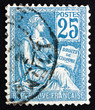 Postage stamp France 1900 The Rights of Man