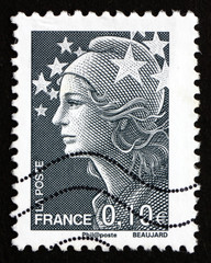 Postage stamp France 2008 Marianne, the Allegory