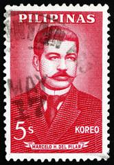 Postage stamp Philippines 1963 Marcelo Hilario del Pilar