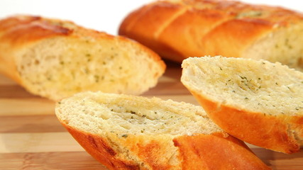 Fresh baked baguettes
