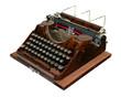 alte antike Schreibmaschine, vintage Typewriter