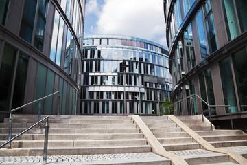 Bürohäuser im Mediapark in Köln
