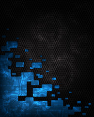modern technology theme background, eps10 vector