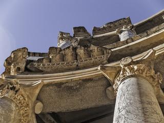 Roman Theater columns detail