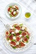 Figs and cheese salad