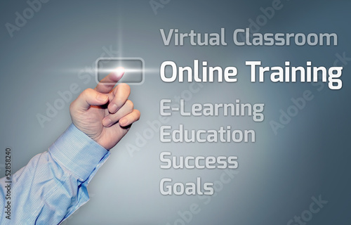 "Virtual Touchscreen ""Online Training"""