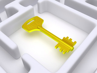 Key to labyrinth